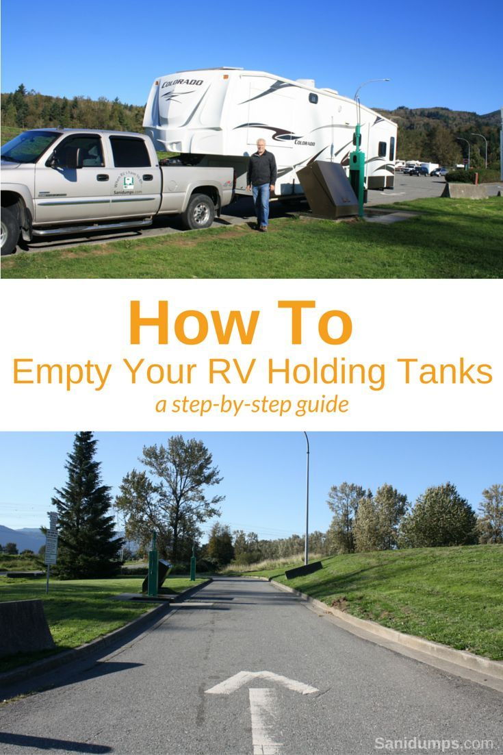 Instructions On How To Empty Your Rv Holding Tanks Rv