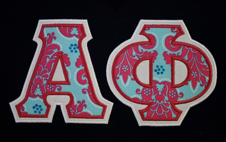 sorority greek letters - premade shirt- | agd love | pinterest