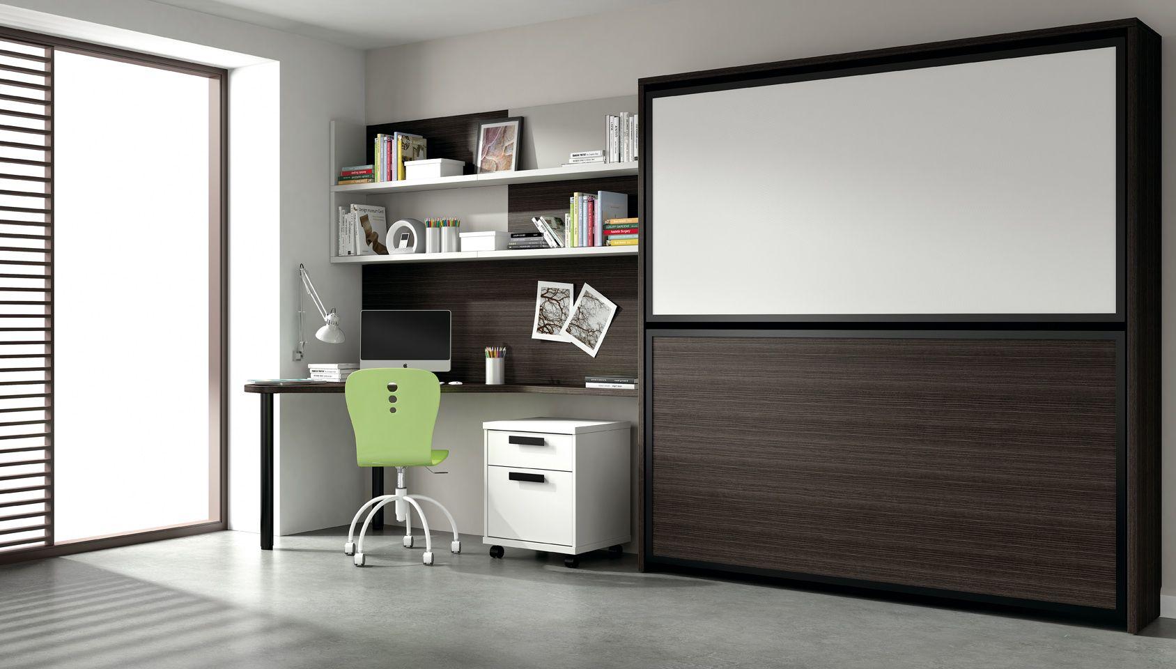 Lits superpos s rabattables 1 personne armoire lit for Lit armoire escamotable rabattable