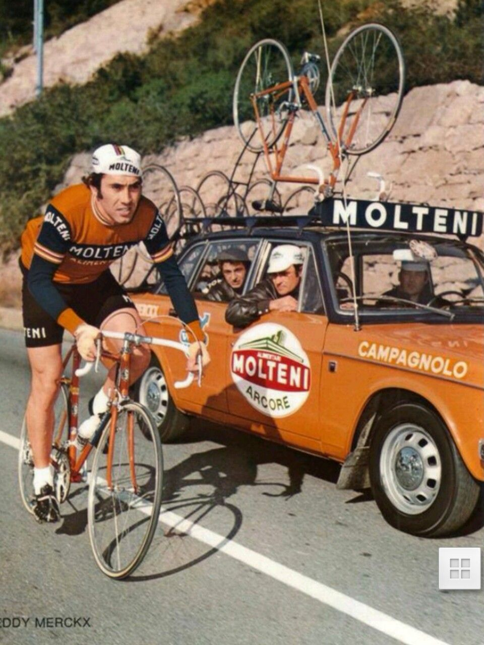 Molteni, E.Merckx | Fotos ciclismo, Ciclismo, Bicicletas retro