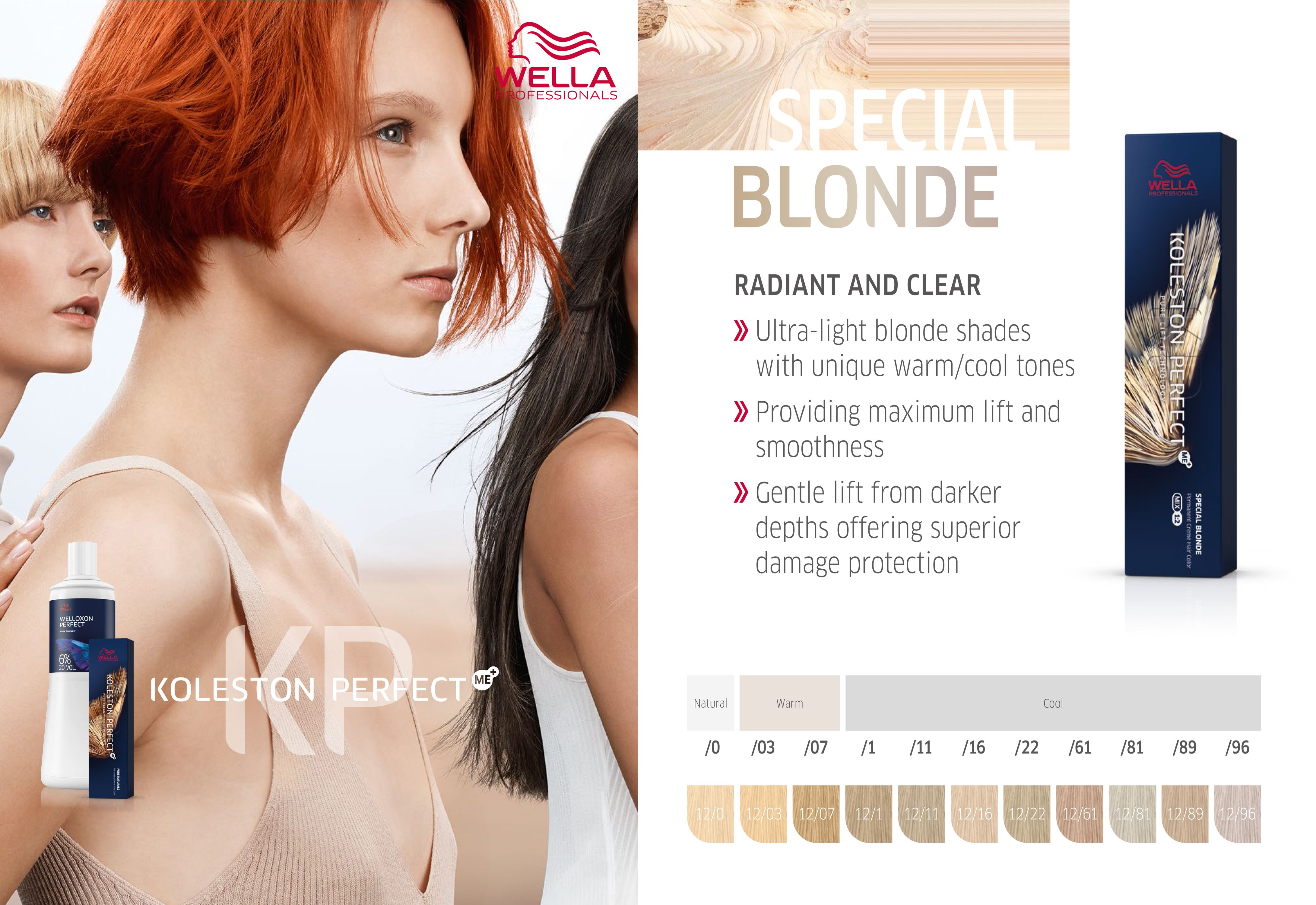 Wella Professionals Koleston Perfect Me Special Blonde Produkty