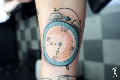 Alarm Clock Tat Clock Tattoo Tattoos Small Alarm Clock