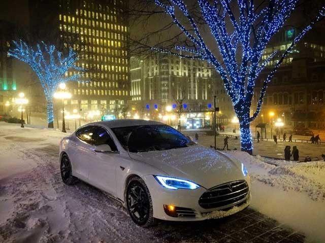 Resumen de un Tesla Model S taxi que pasa de los 160.000 kilómetros