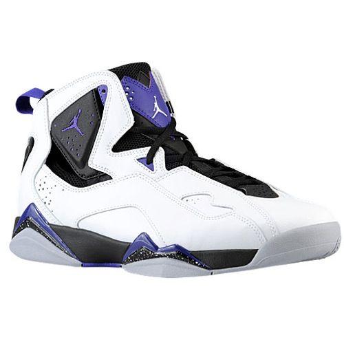 air jordan true flights purple and white