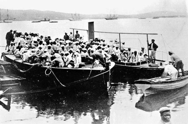 The Arrival Of Indians In South Africa By Boat History