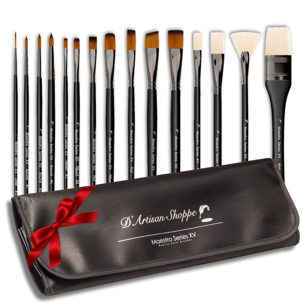Amazon Com Super Savings Art Paint Brush Set Professional Artist