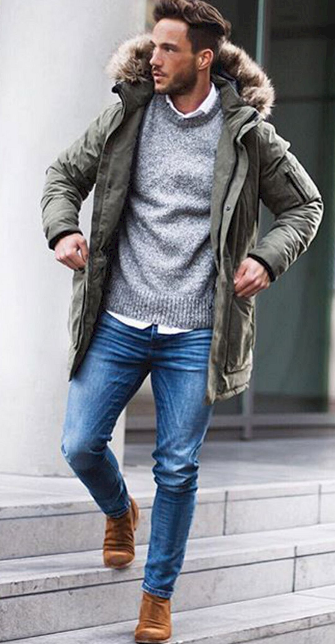 Men winter casual outfit ideas 8 men 39 s fashion for Best dress shirts nyc