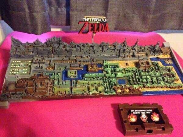 zelda karte Zelda Karte als Spielzeug aus dem 3D Drucker | 3D Druck Kunst  zelda karte