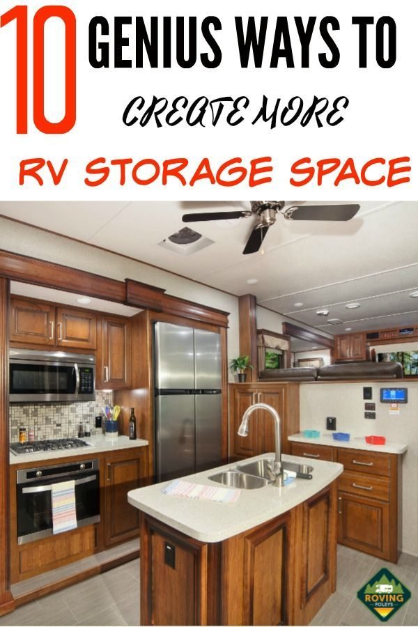 12 Brilliant RV Storage Ideas You Need To Know About!