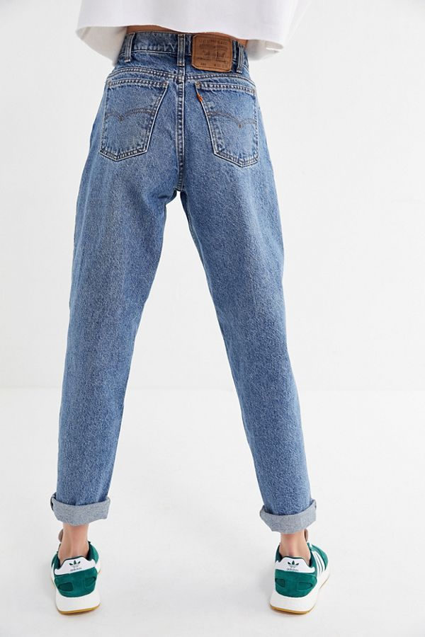 Slide View: 3: Vintage Levi's 550 Straight Jean
