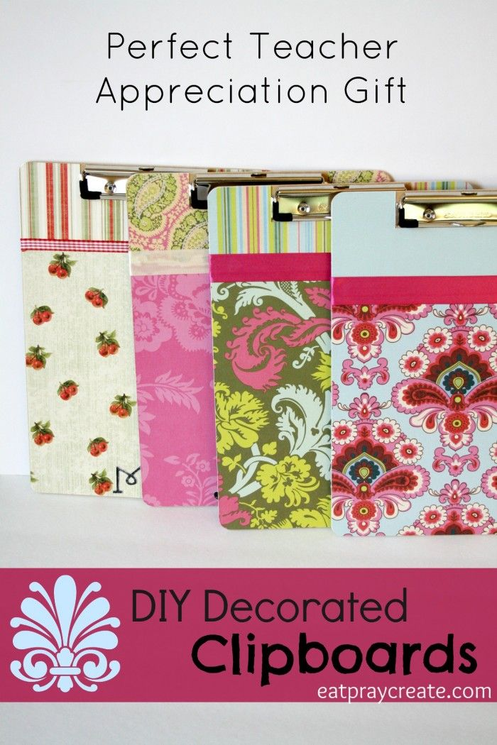 DIY Decorated Clipboard Tutorial | Eat Pray Create  sc 1 st  Pinterest : decorated clipboard ideas - www.pureclipart.com