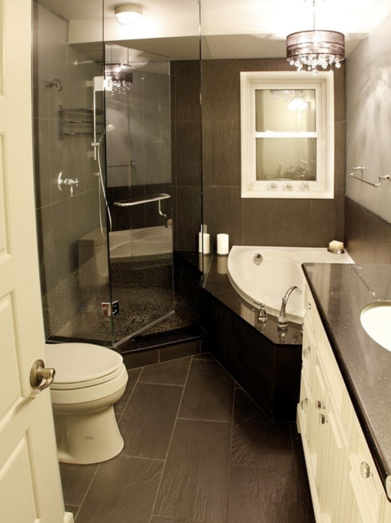 Bathroom Small Master Bedroom Ideas With Corner Whirpool Bathub Shower Space White Modern Toi Small Master Bathroom Eclectic Bathroom Bathroom Remodel Master