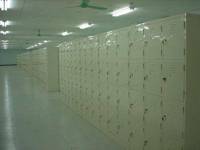 Tủ locker, tủ đựng đồ cá nhân giá rẻ: Dự án cung cấp tủ locker cho KCN Hải Yên