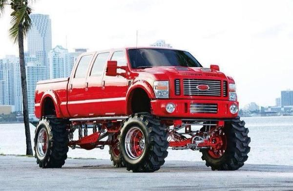 Big Ford Trucks >> Big Red Ford Truck Wire Diagrams