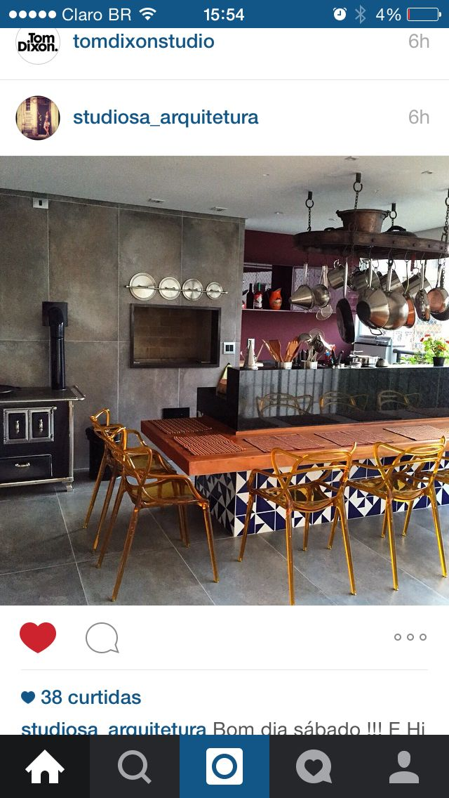 Cozinha gourmet by Studio Sá