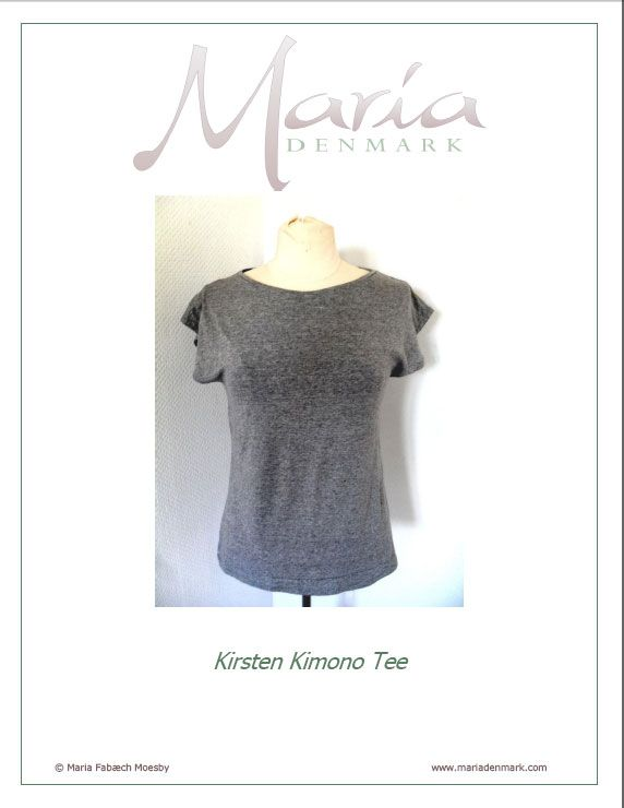 FREE Kimono T-Shirt/Top Pattern | Free Top Patterns for Women ...