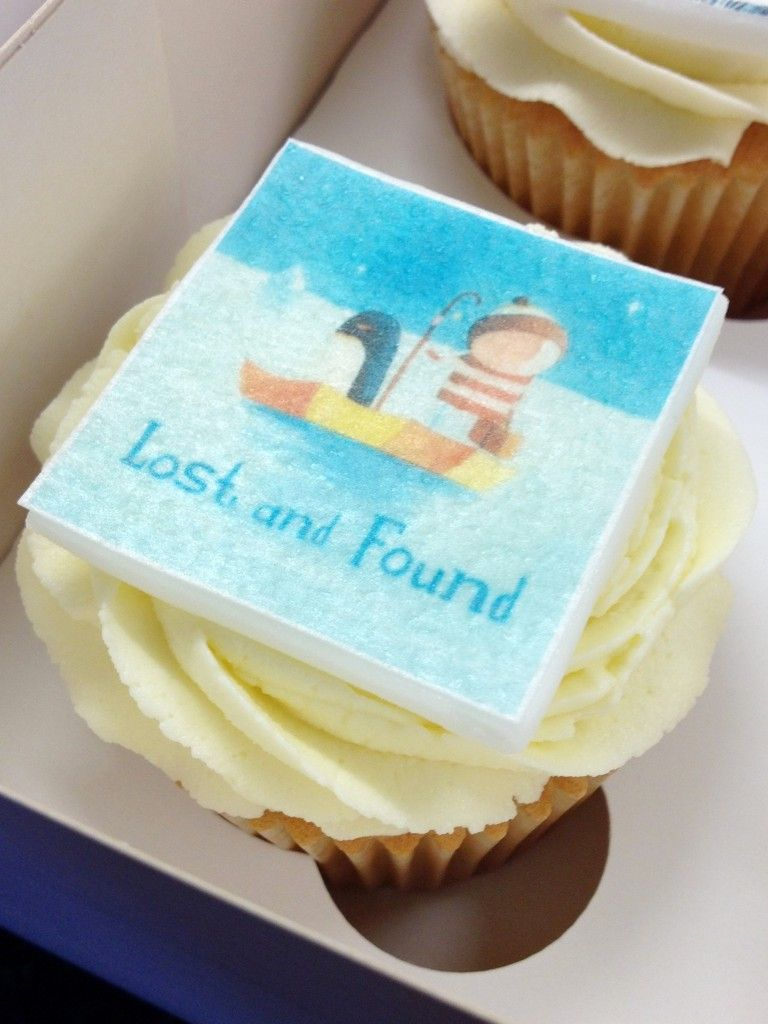 Wafer Paper Book Cover Cupcake Lost And Found Wafer Paper Edible