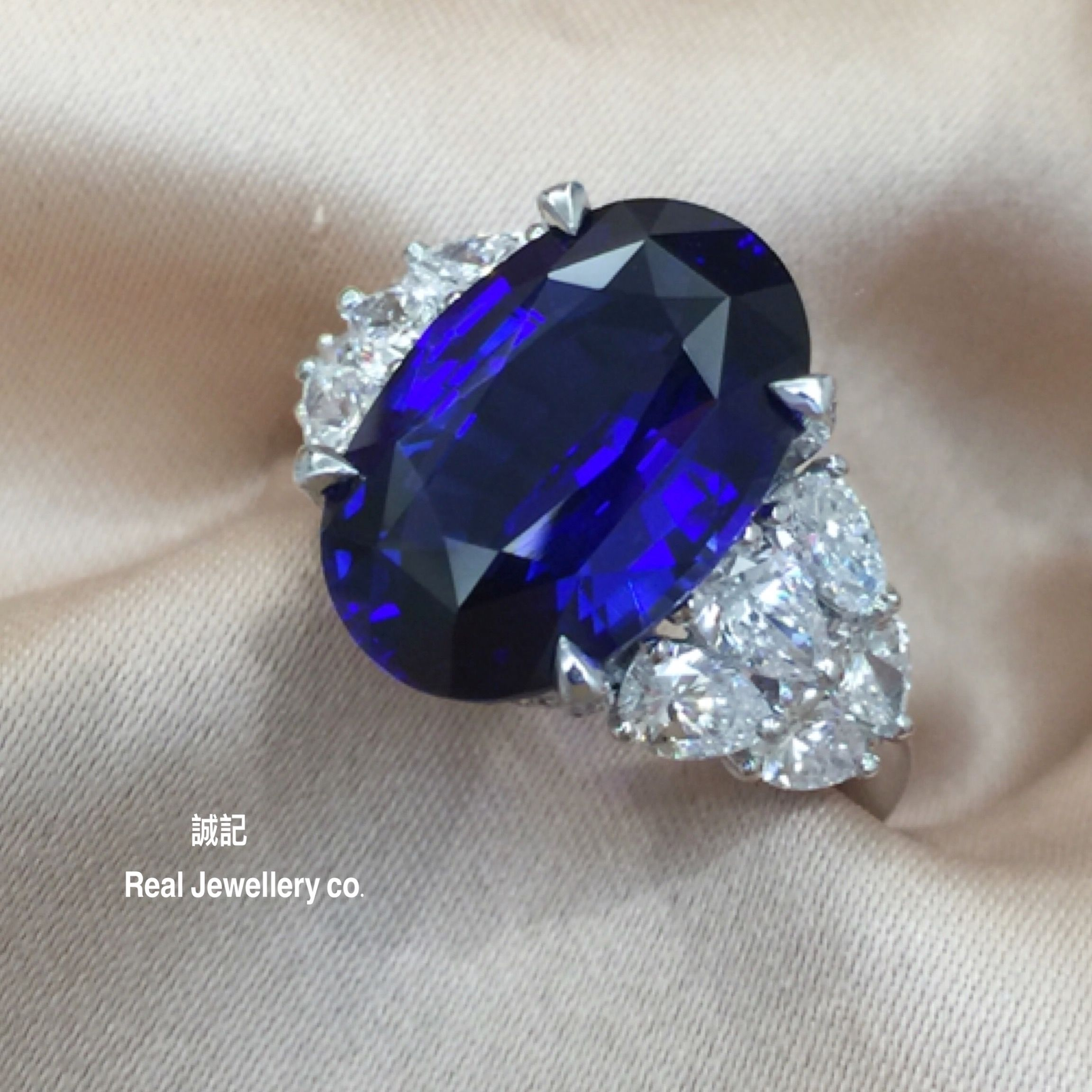 men luxury wholesale real sterling gift silver cut wedding cz gemstones pure round from product band jewelry sapphire soild blue size ring
