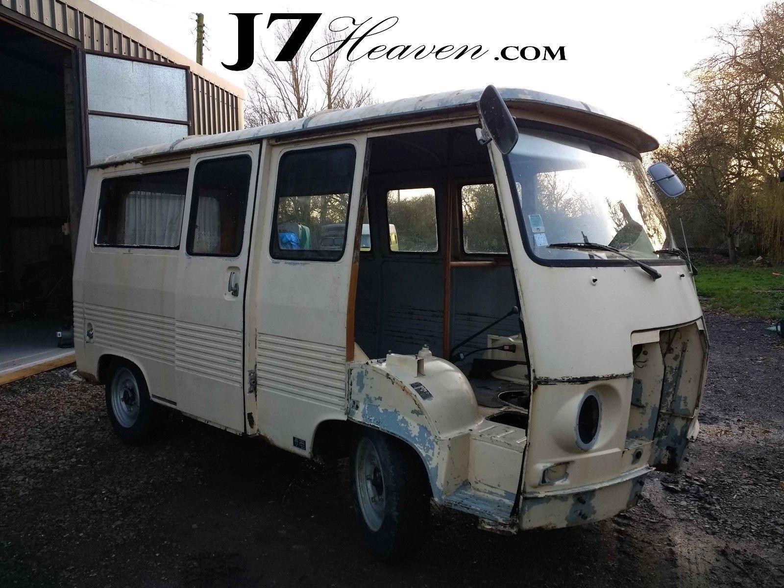 eBay: Peugeot j7 - Restored Vehicles for use as catering camper food ...