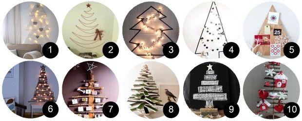 10 Arboles De Navidad Originales Adornos De Navidad - Adornos-originales-para-navidad