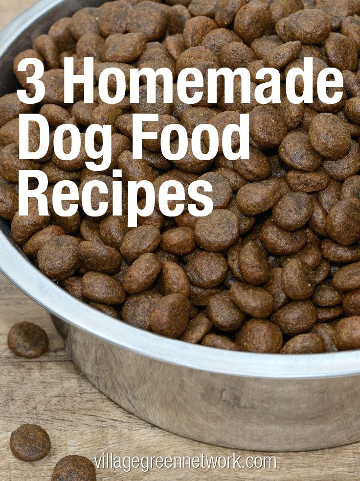 3 Homemade Dog Food Recipes Http Villagegreennetwork Com 3