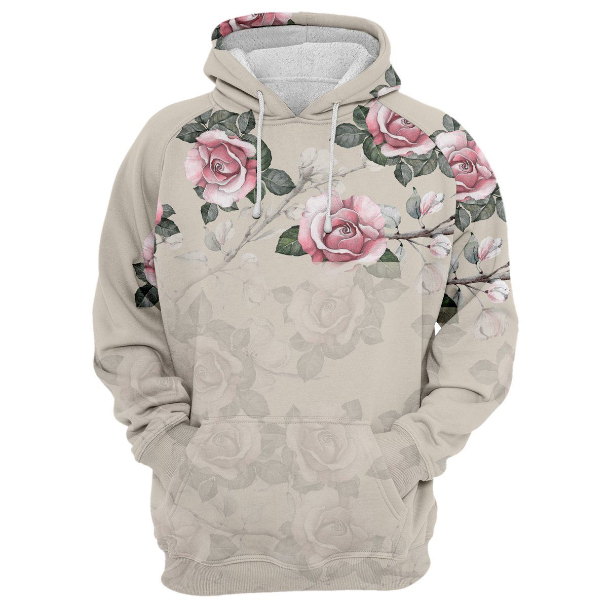 Wear Our Unique Retro Roses Hoodie Featuring A Custom Made Design Crafted From 100 Polyester The Print Of Vintage Pink Unisex Hoodies Hoodies Trendy Hoodies [ 1200 x 1200 Pixel ]