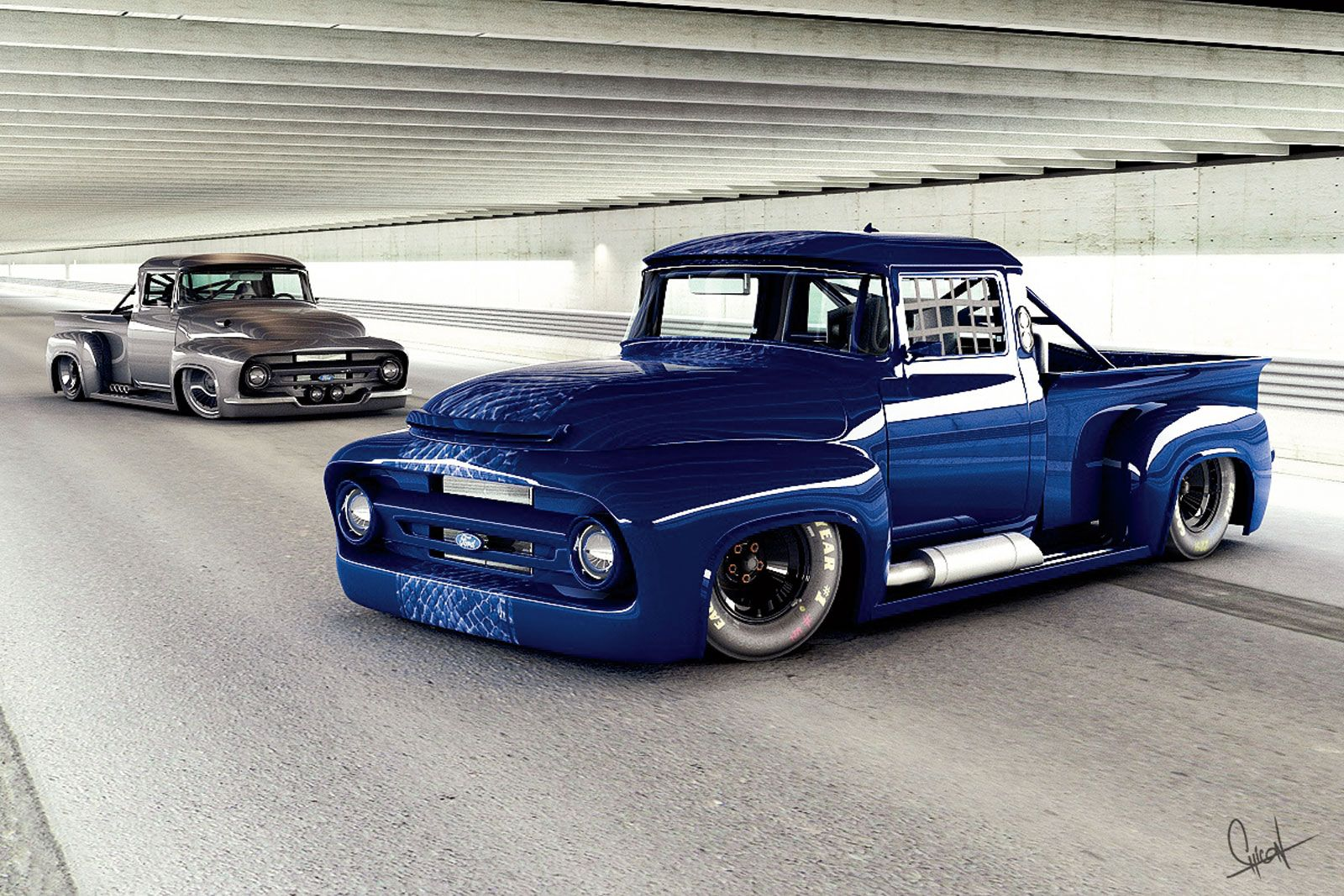 Trucks Street Race Cars That Look Like Rodrigo Chicon Second Generation Ford Photo 5
