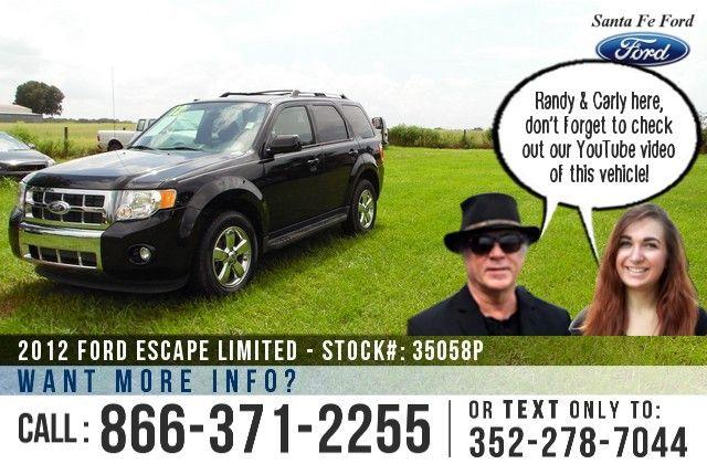 2012 Ford Escape Gainesville Fl Miles 31 952 Stock 35058p