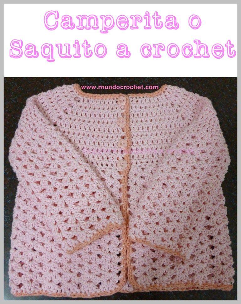 Atractivo Manto Crochet Con El Patrón De Campana Inspiración - Ideas ...