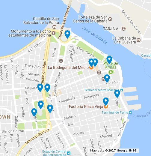 Old Havana  - A Self Guided Walking Route