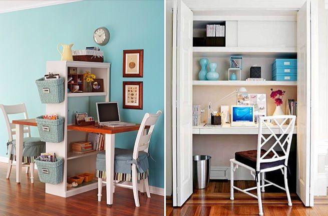 escritorios para espacios reducidos