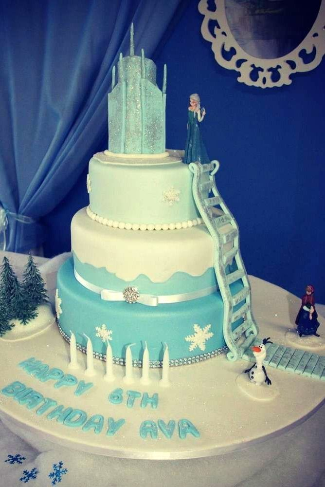 Frozen Birthday Cake Cakes Pinterest Frozen Birthday