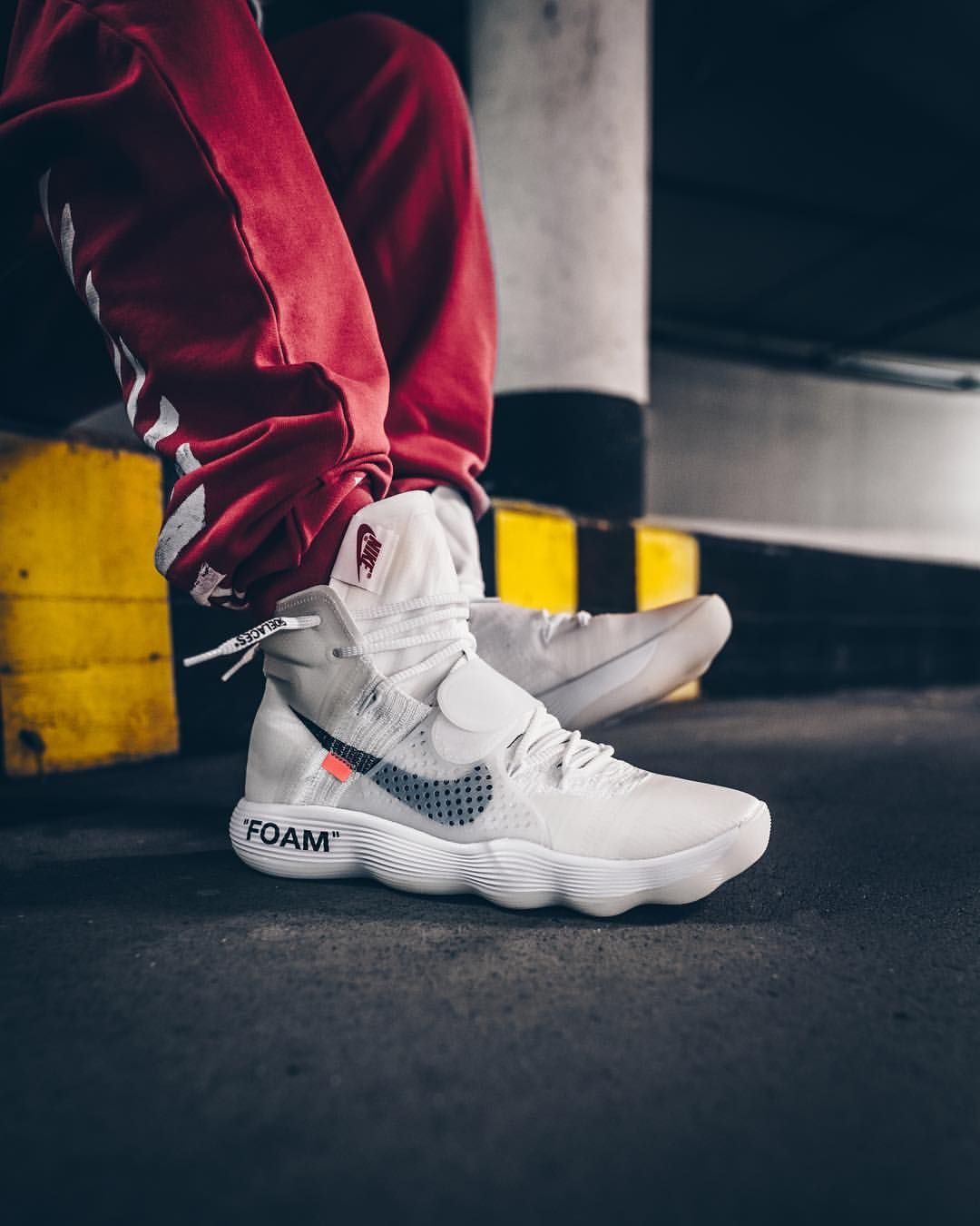 25f5cc754440 OFF WHITE x Nike Hyperfuse 2017