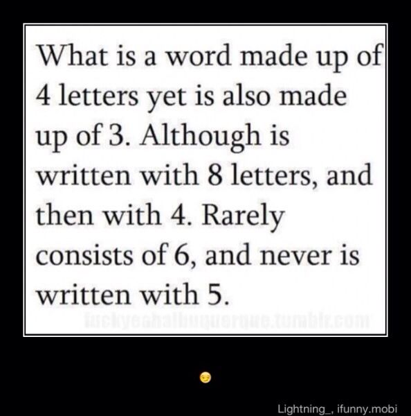 Can you figure it out? ( it is more than one word)