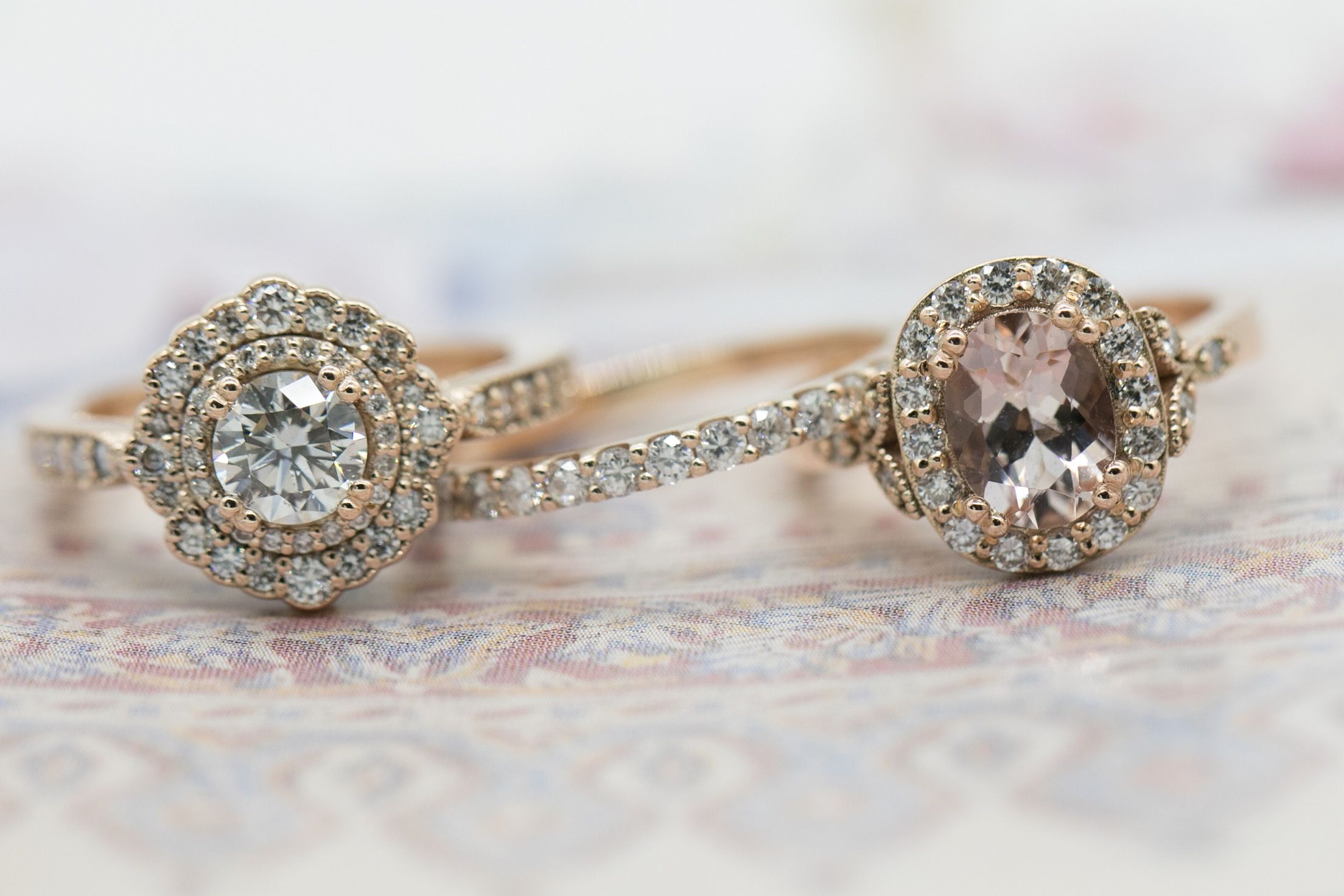 engagement campari oval pink blush rings by rose ring eidelprecious peach listing gold light fullxfull sapphire diamond il