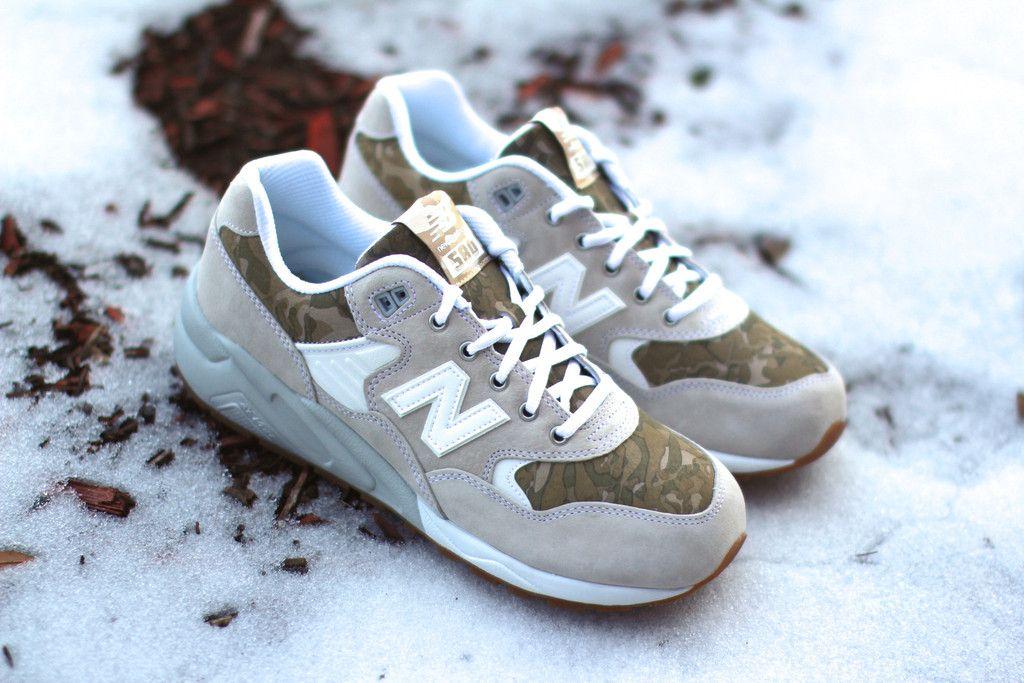 new-balance-580-camo-khaki-5 | sneakers | Pinterest | Khakis, Camo ...