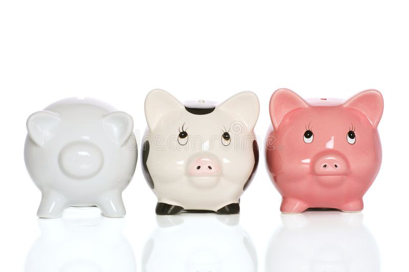Piggybank Family Standing Tall And Supportive Sponsored Family Piggybank Standing Supportive Tall Piggy Bank Family Stock Photo Holiday Vectors