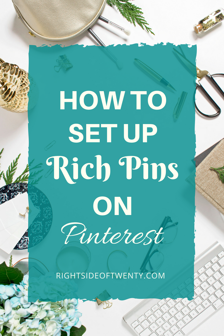 2018 Beginners Guide To Pinterest How to Set Up Rich Pins