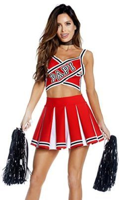 1a5b5ee626 Papis Prize Sexy Cheerleader Costume Other folks might be cheering to your  sexiness this Halloween whilst