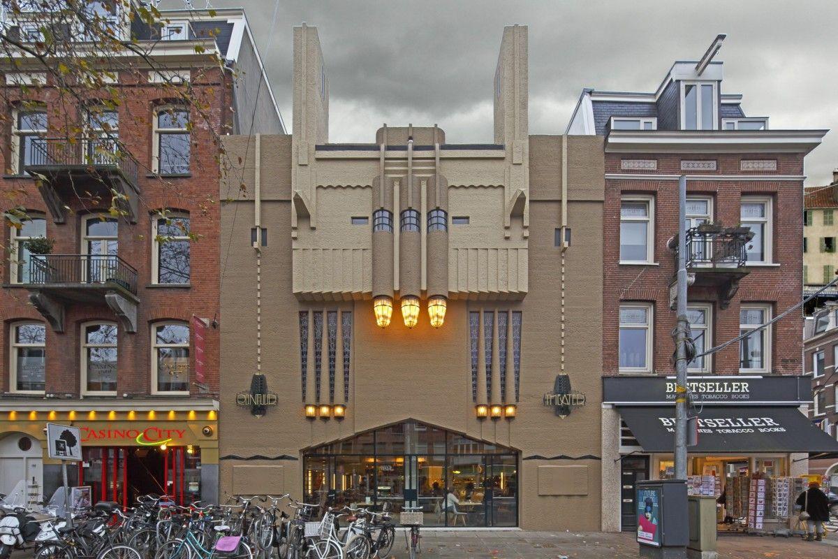 Art Deco Stijl : Het ceintuurtheater in art deco stijl bij het mla om de hoek