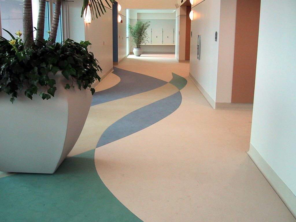 Stonhard Seamless Floors Create A Durable, Yet Welcoming Design, Creating  The Perfect Solution For