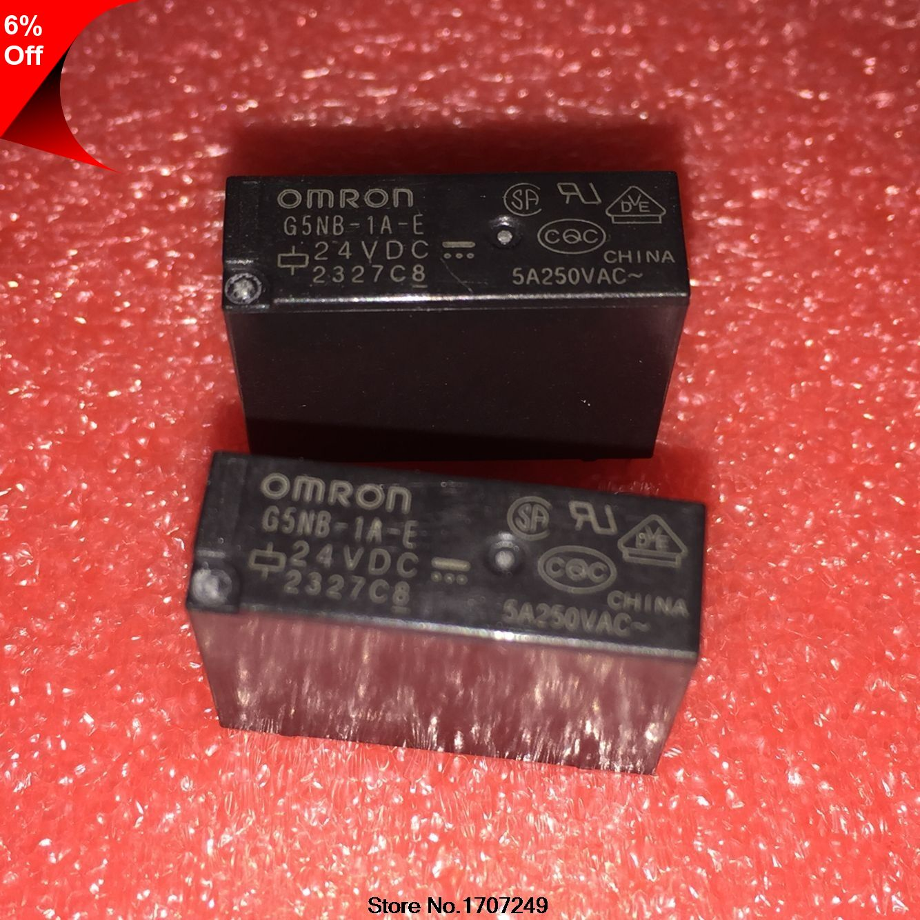 Only 7 99 Free Shipping 10pcs New Original Omron Relay G5nb 1a E 24vdc G5nb 1a E Dc24v G5nb 1a E 24v G5nb 1a E 24vdc 5a 4pin