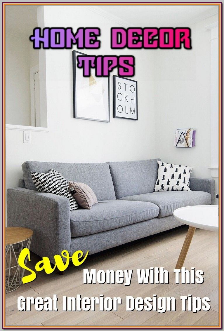 Excellent Home Decor Tips For Making Your Home Look