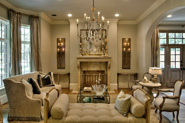formal white living rooms | formal traditional classic ...