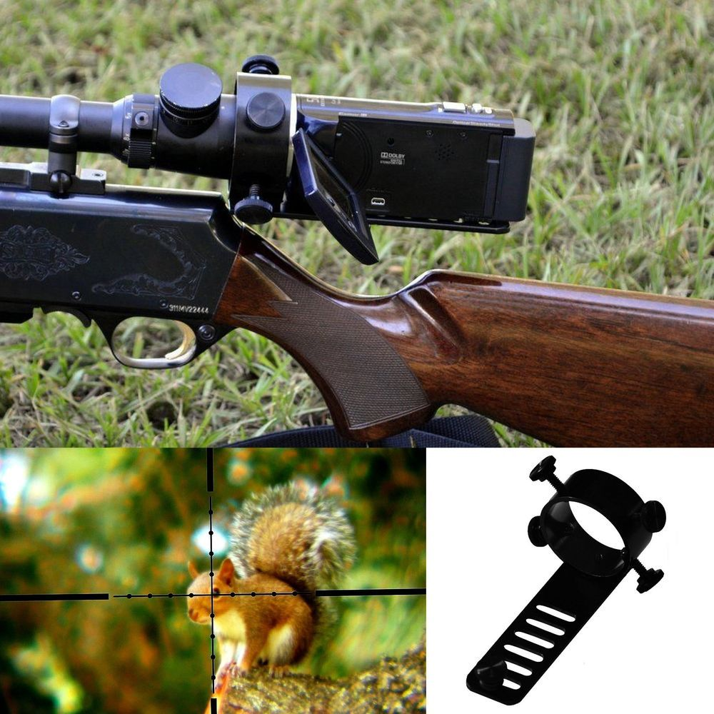 The Scope Camera / Camcorder Mount is made out of 6061