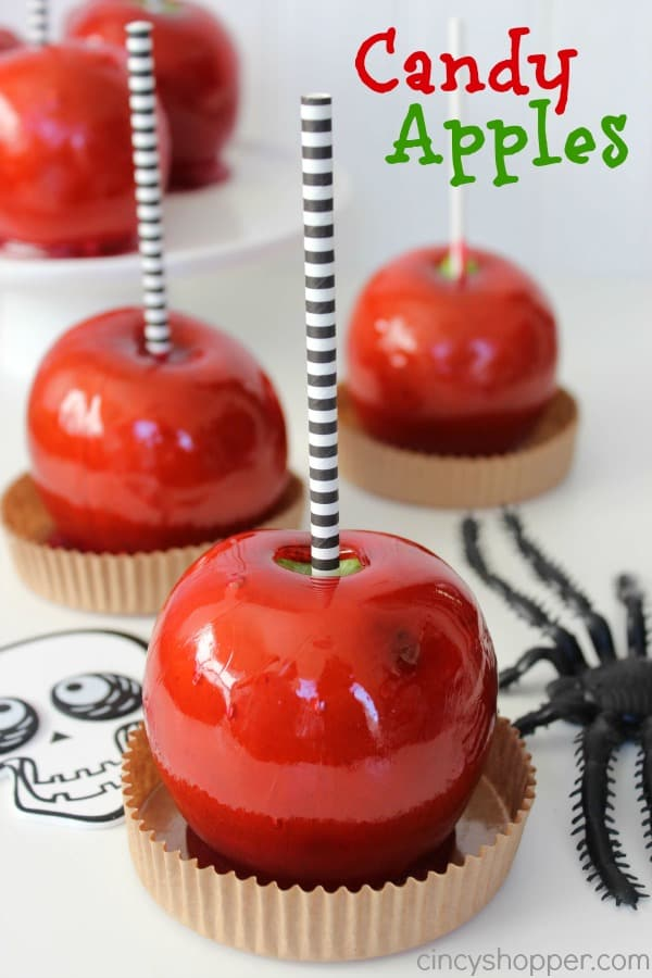 Old Fashion Candy Apple Recipe perfect for fall and