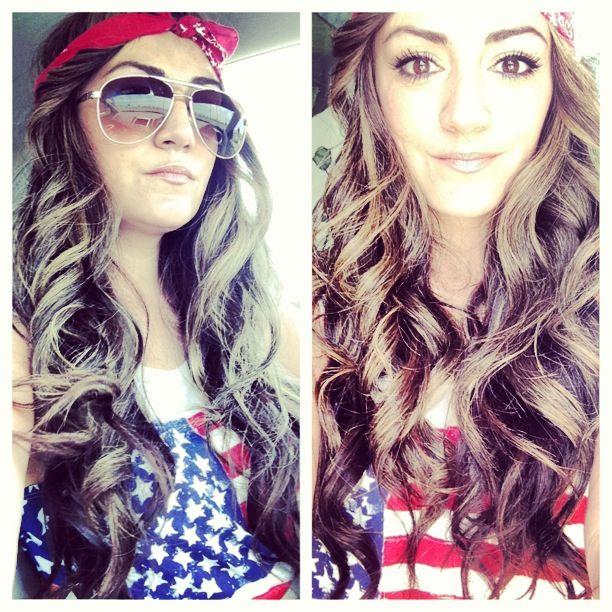 Long hair with bandana USA  a8b0f66117b