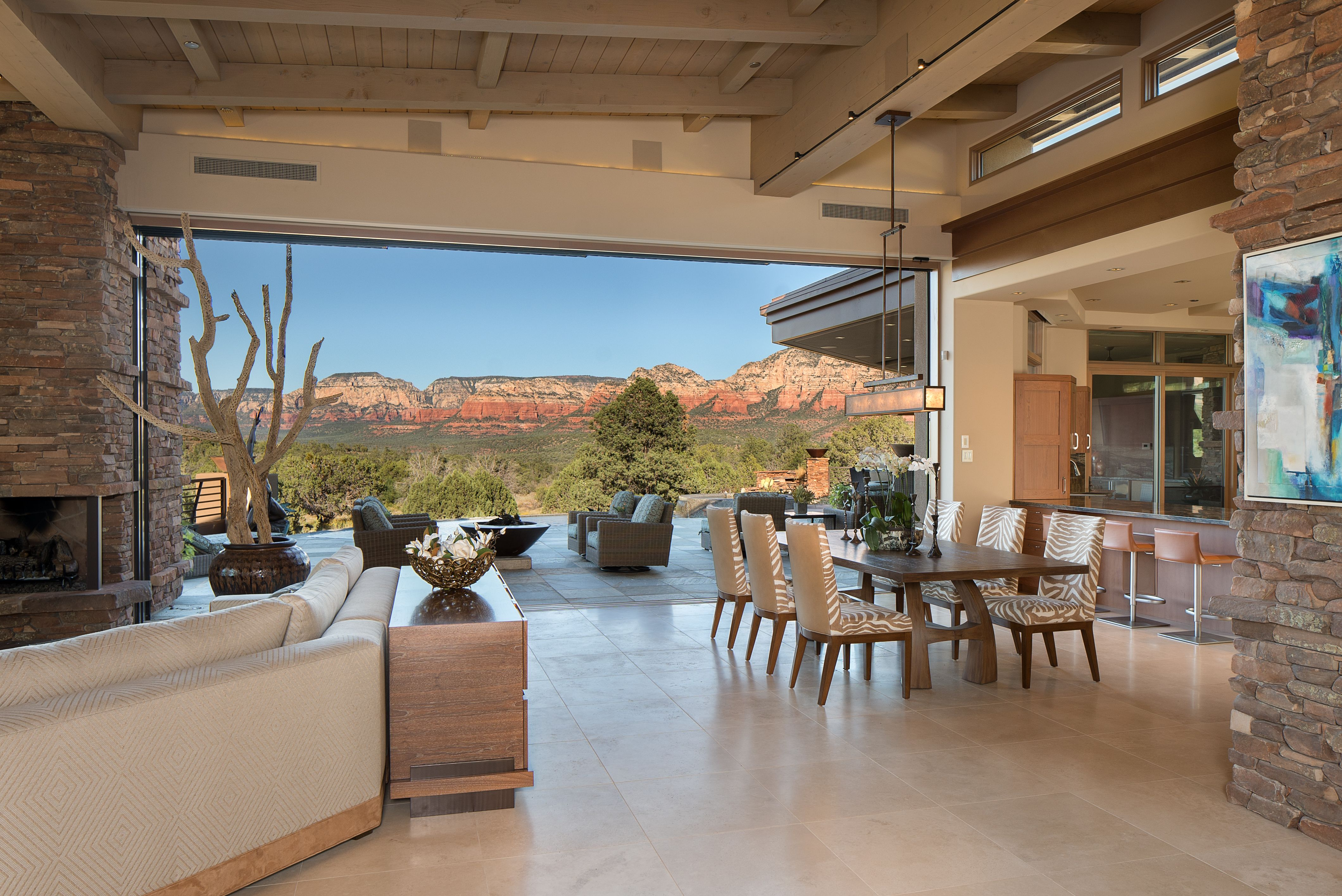 Sedona Extraordinary Serenity Luxury Green Living Modern Floor Plans Open Concept Floor Plans Modern House Design