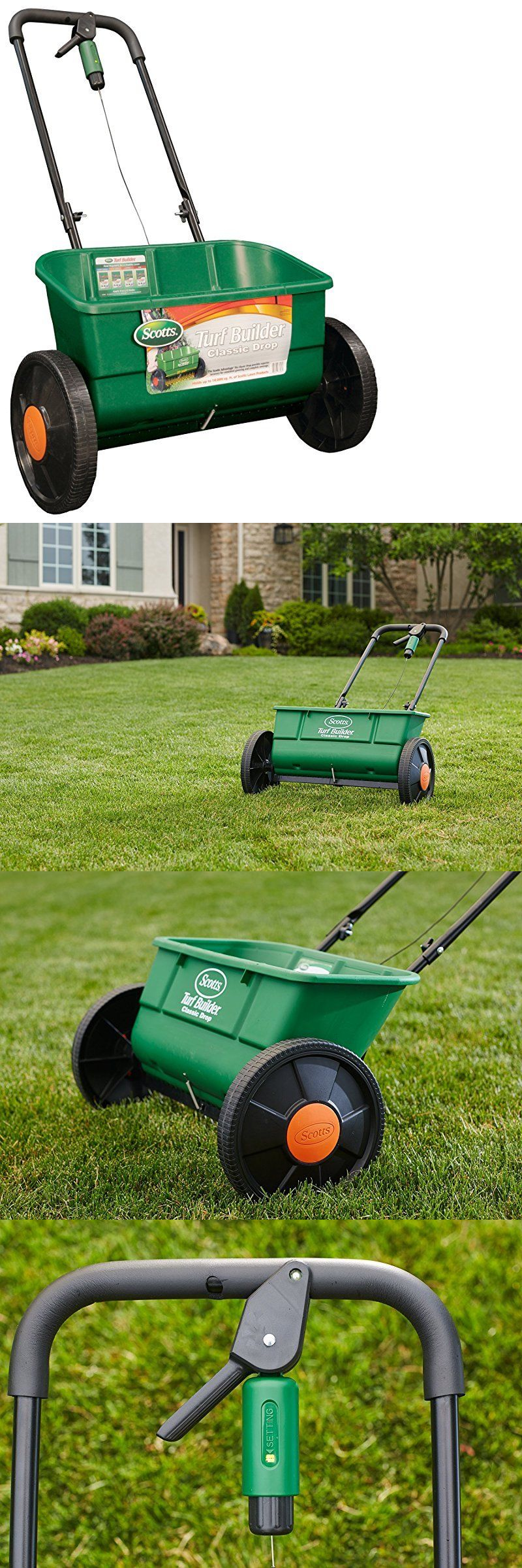 Seeders and Spreaders 118869: Scotts Turf Builder Classic Drop Spreader, (Up To 10,000-Sq Ft) -> BUY IT NOW ONLY: $88.96 on eBay!