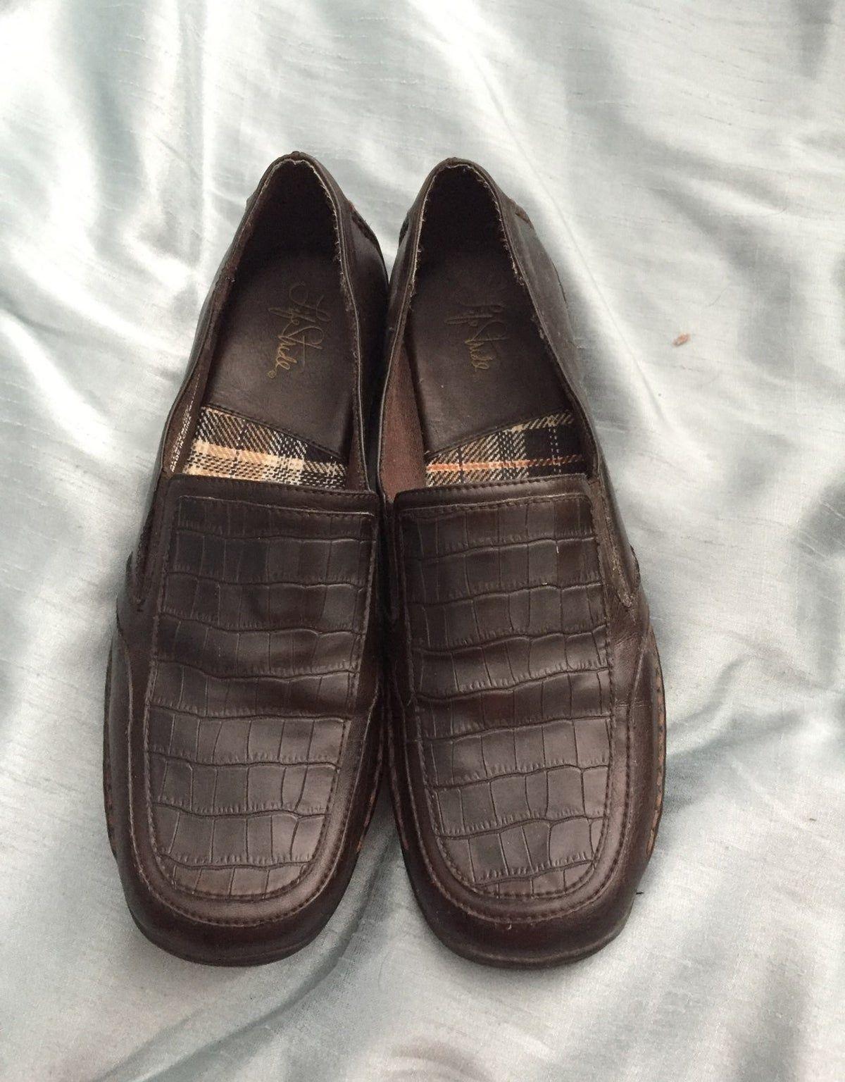 Life stride duke rich brown boynton size-  #boynton #Brown #Duke #life #rich #Size #stride-    Life stride size 11M duke rich brown bouton shoes